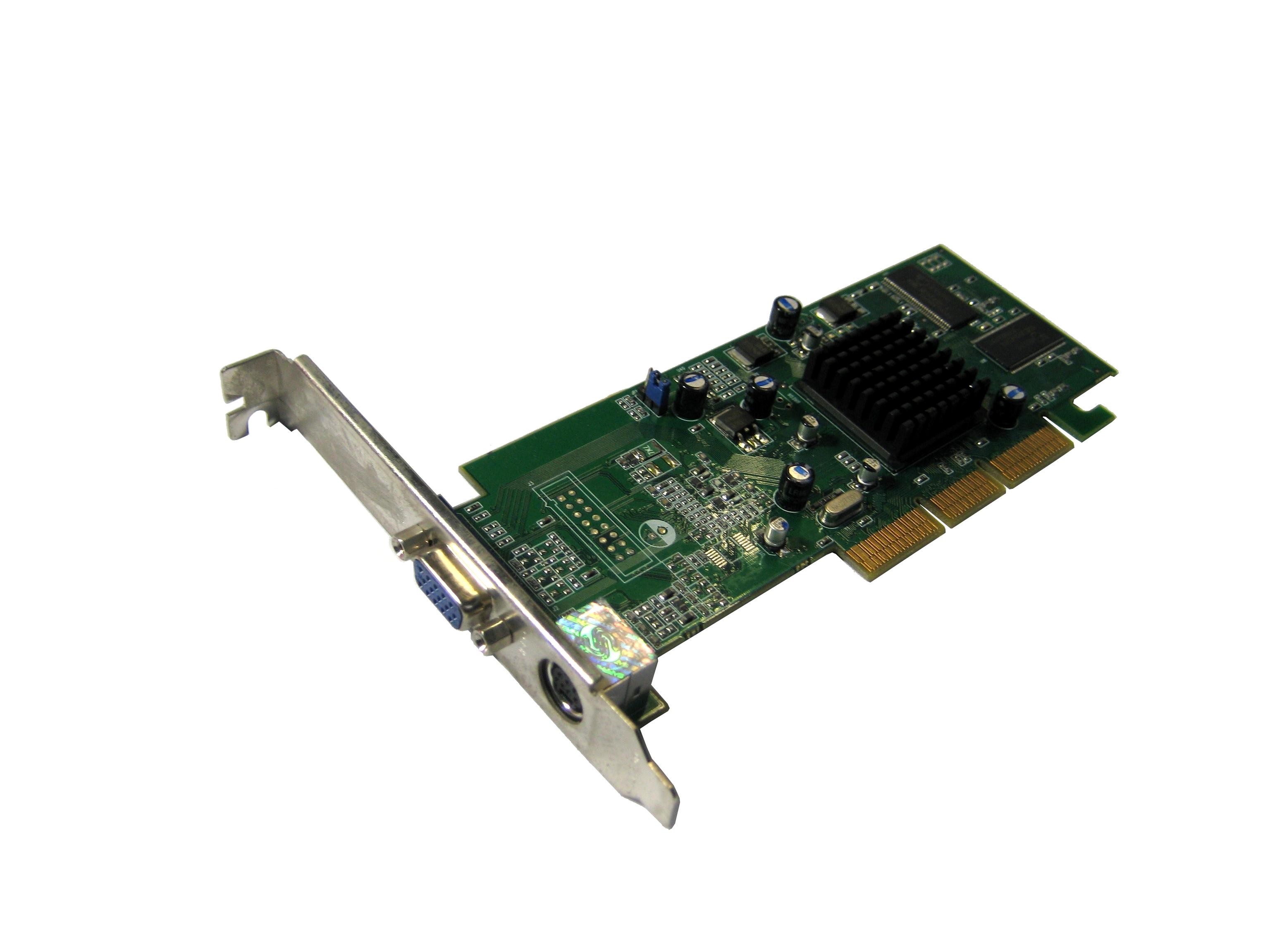 Sapphire 1024-2C28-A3-SA Radeon 7000 32MB DDR TVO AGP Card