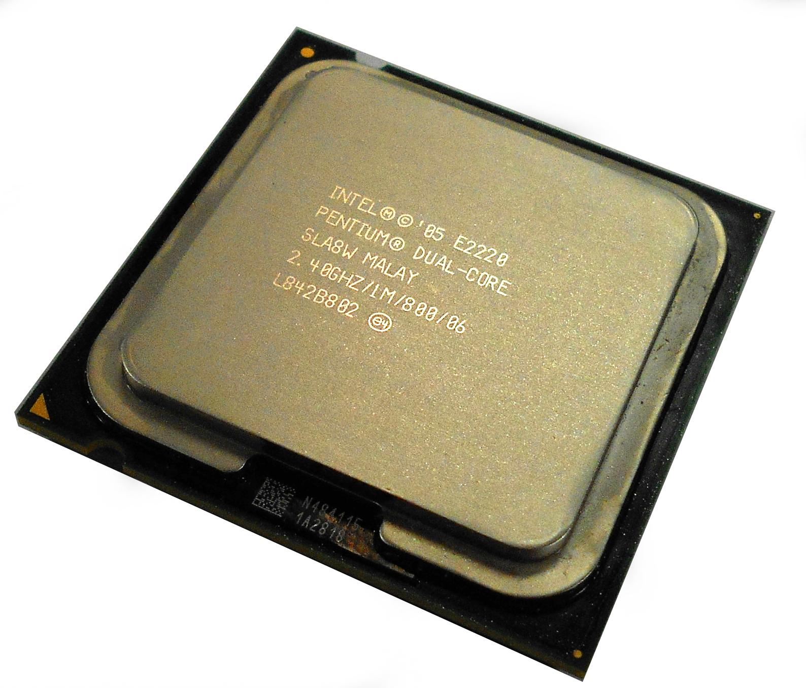SLA8W Intel Pentium Dual Core E2220 2.4GHz / 1M / 800 / 06 Processor