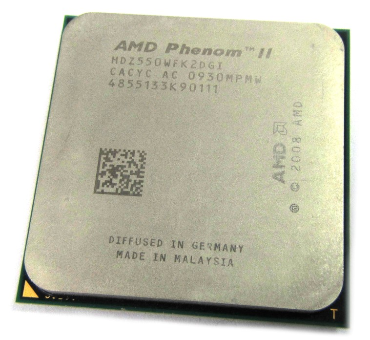 HDZ550WFK2DGI AMD Phenom II X2 550 3.1GHz 2 Core CPU (Unlocked Clock Multiplier)