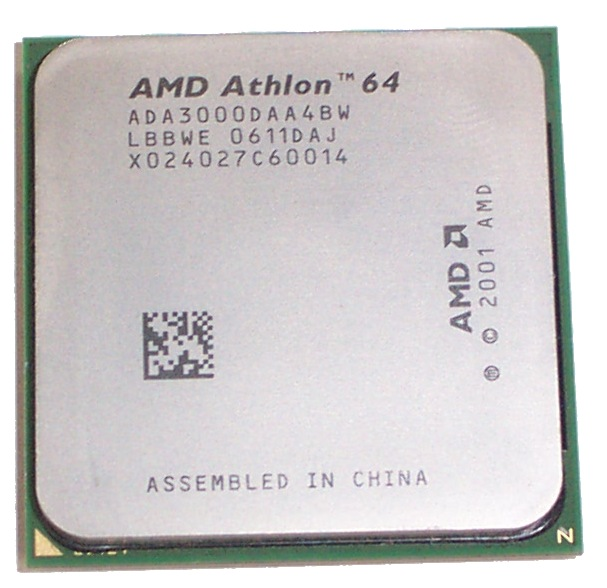 AMD ADA3000DAA4BP Athlon 64 3000+ Socket 939 Processor