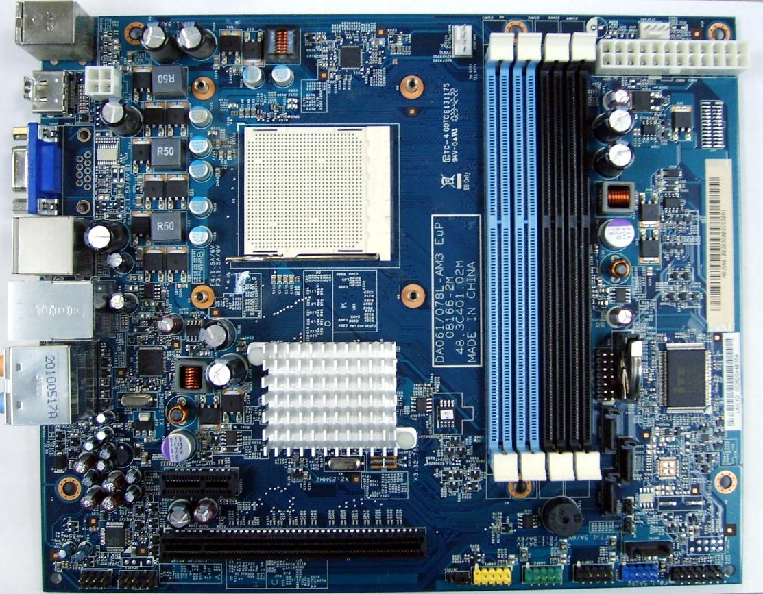 DA061/078L-AM3 Packard Bell OneTwo L5351 Motherboard MB.U5N01.002 48.3C401.02M