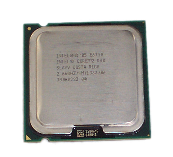 Intel SLA9V Core 2 Duo E6750 2.66GHz 4M Cache 1333MHz FSB Processor