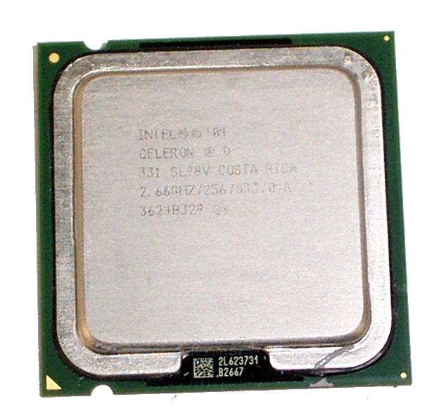 Intel SL98V Celeron D 2.66GHz 331 LGA775 Processor 2.66GHz/256/533/04A