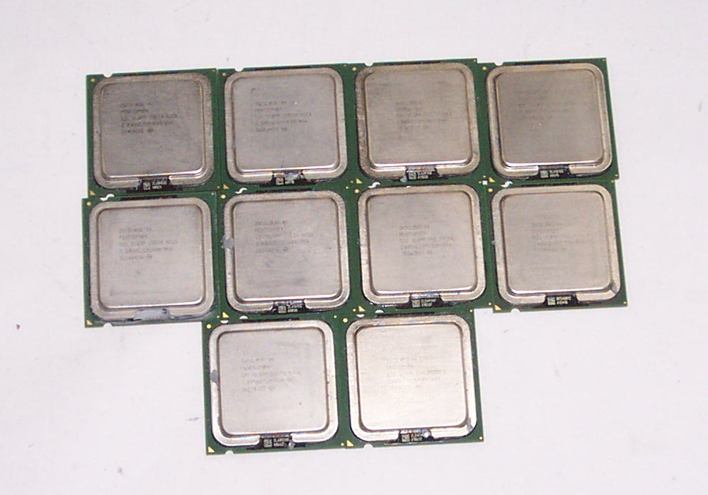10 x Intel SL7J5 Pentium 4 2.8GHz 800MHz 1MB Socket 775 Processor