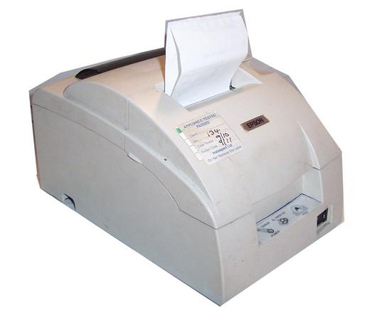 Epson TM-U220D Model M188D EPOS Matrix Printer-No AC Adapter