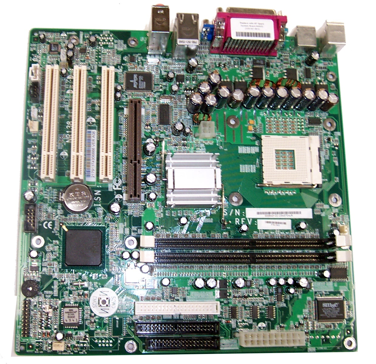HP 333543-001 d230 MT Socket 478 Motherboard NR138