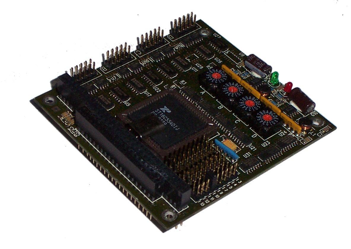 Technic PV4000WA-5V-S PC/104 4-Port RS232 Board