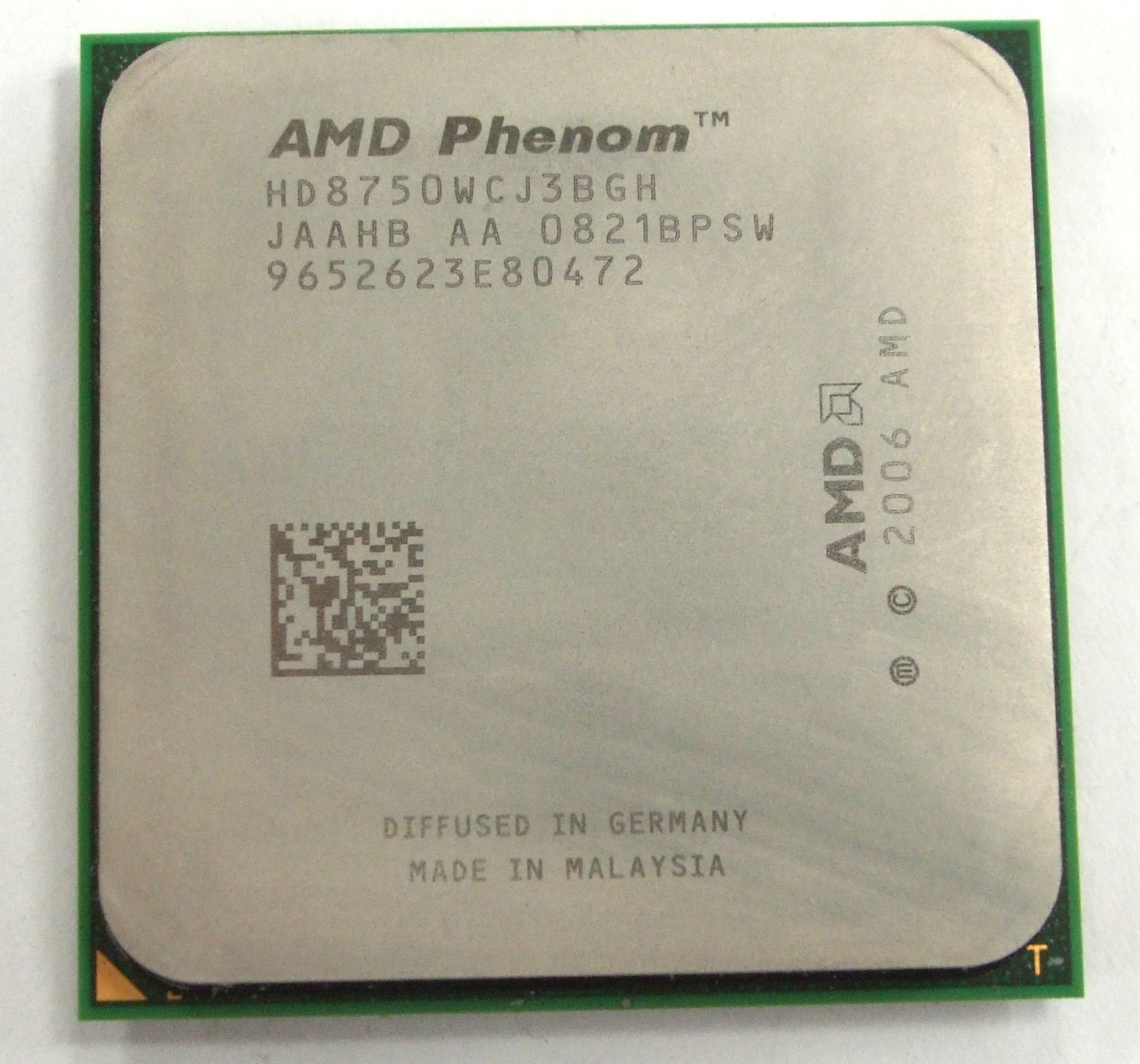 HD8750WCJ3BGH AMD Phenom X3 8750 Socket AM2+ Tri-Core Processor