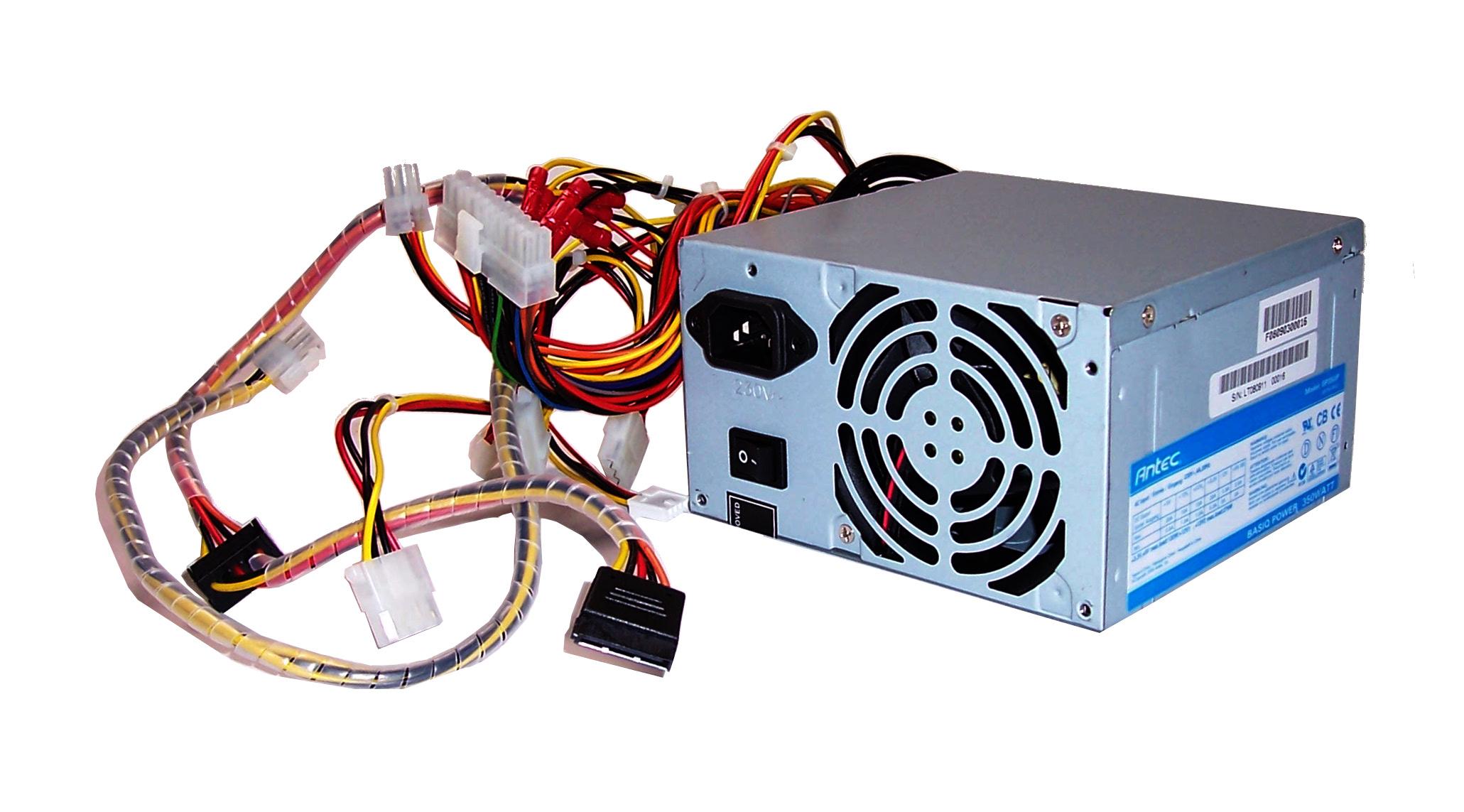 Antec BP350P 350W ATX Basiq 20-Pin Power Supply With PFC