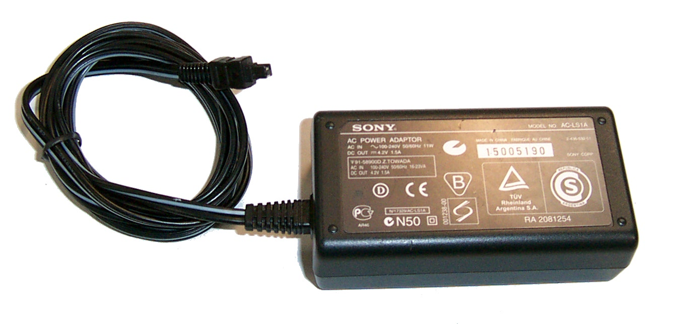 Sony AC-LS1A 4.2V 1.5A AC Adapter