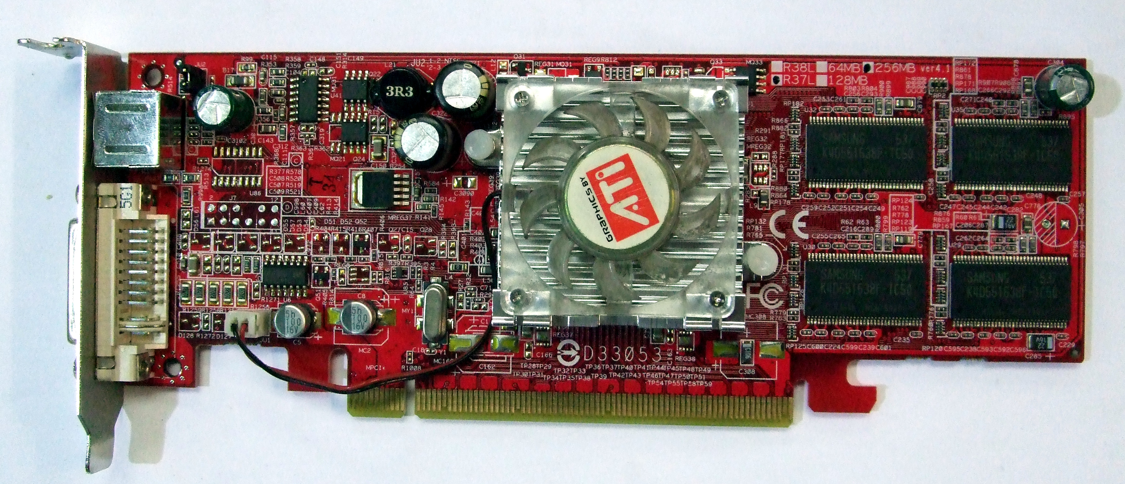 Ati Radeon X550 256mb Vga Pci E X16 Graphics Card Graphics Cards Blackmore It