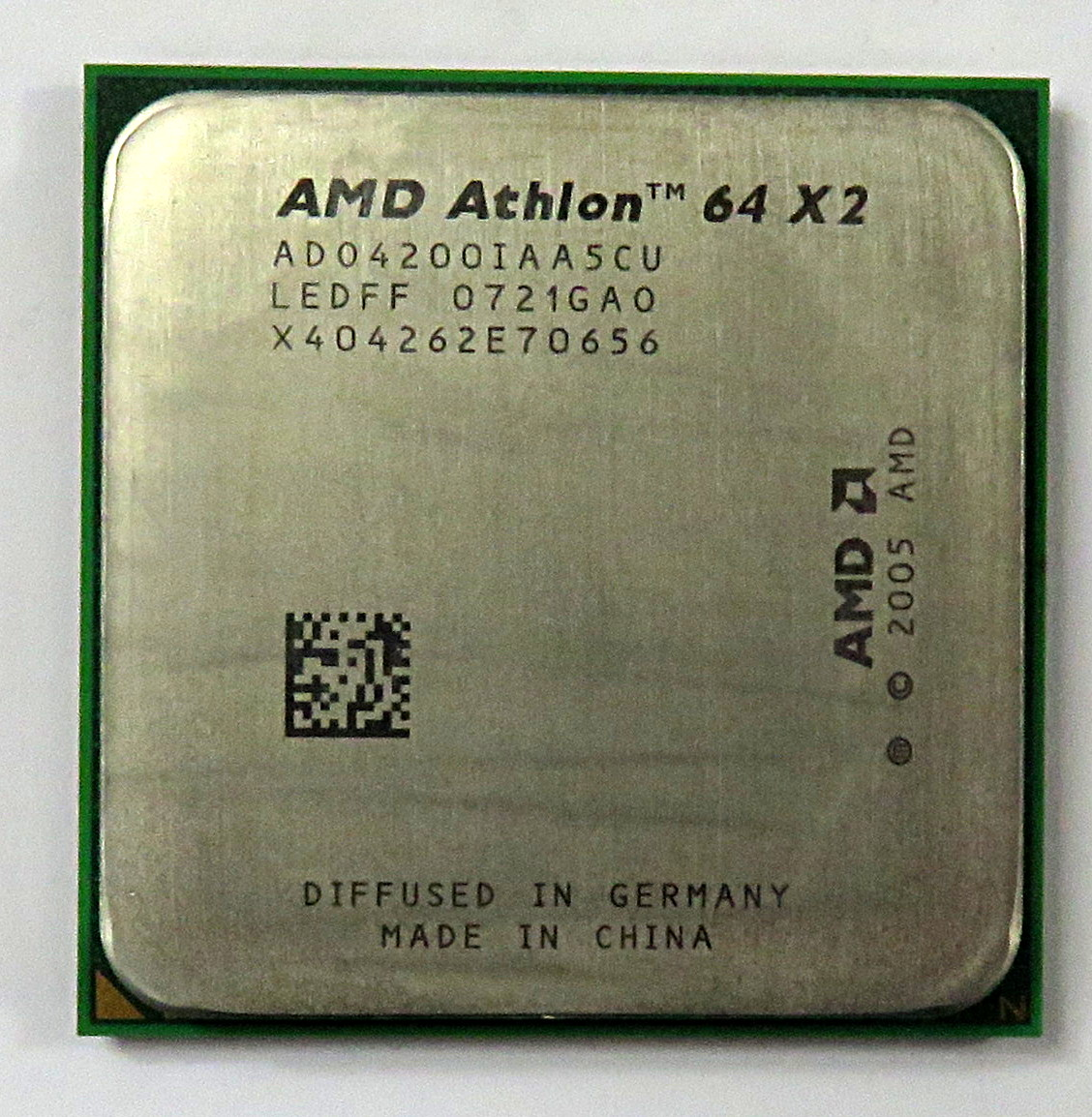 AMD ADO4200IAA5CU Athlon 64 X2 4200+ 2.2GHz Socket AM2 Processor
