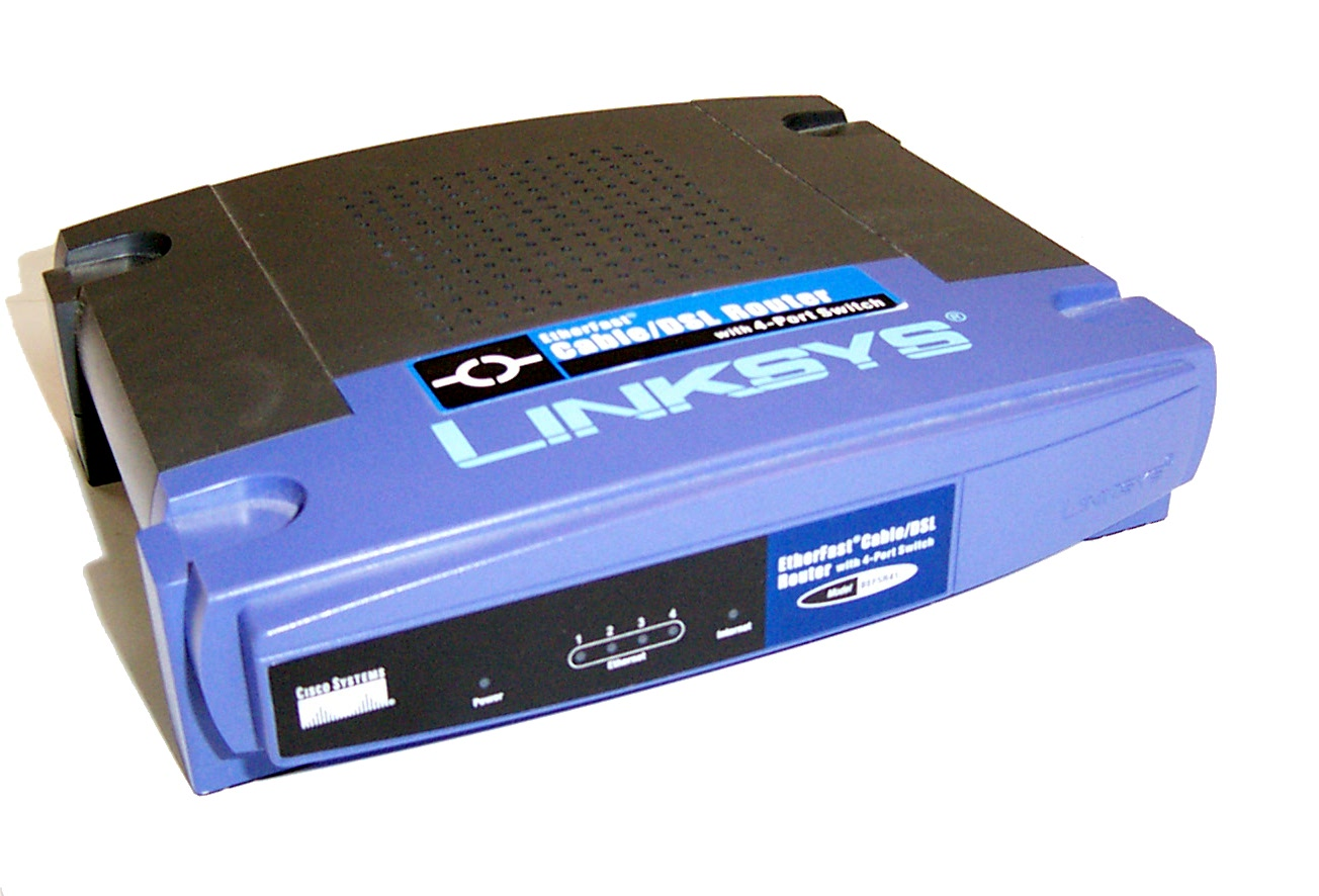 LINKSYS ETHERFAST CABLE DSL ROUTER WITH 4-PORT SWITCH DRIVER