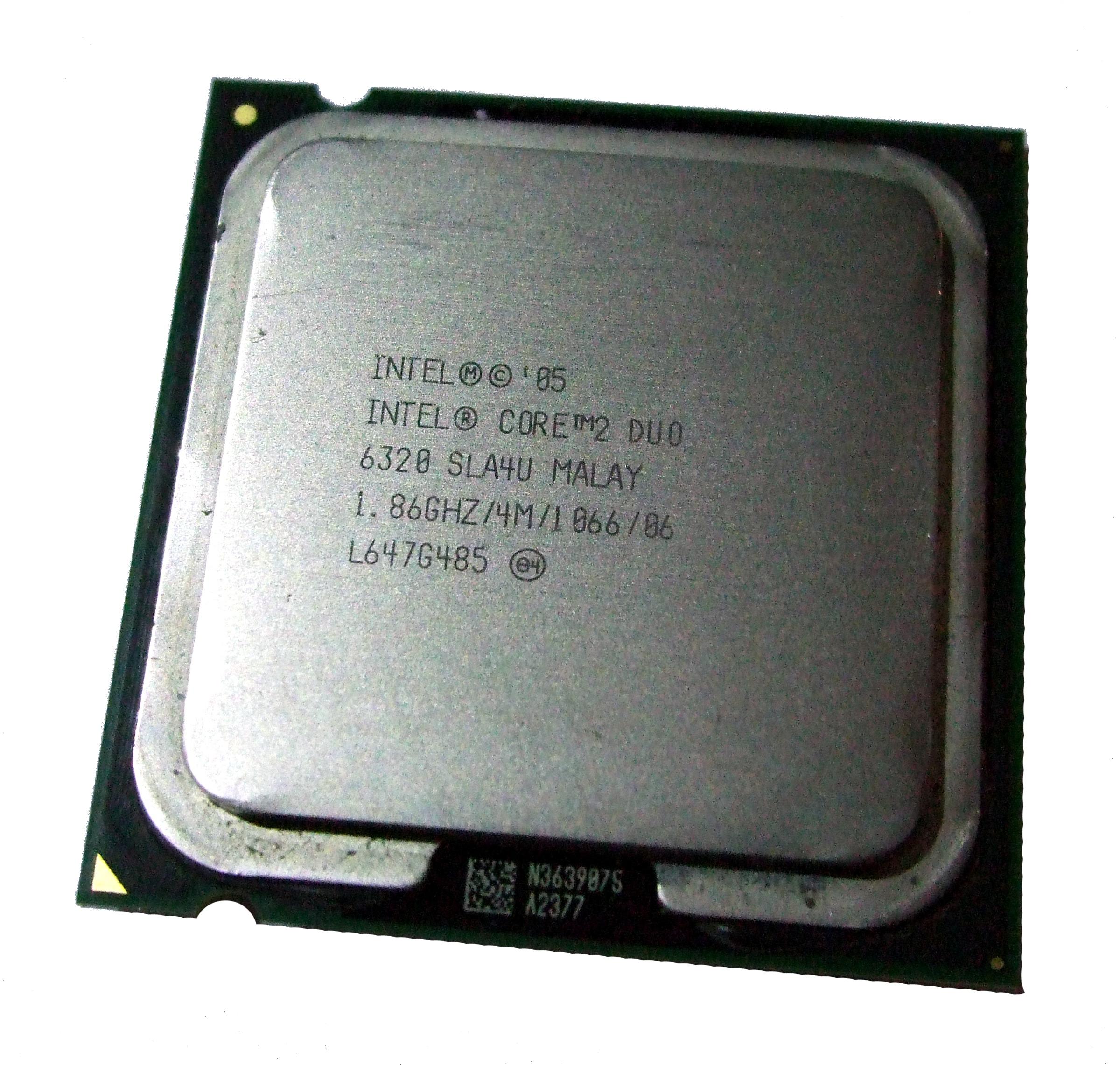 Intel SLA4U Core 2 Duo E6320 1.86GHz Socket T LGA775 Processor  4M/1066FSB