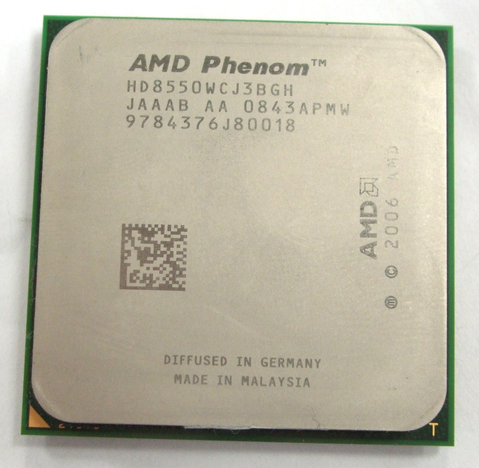 AMD Phenom X3 8550 Socket AM2+ Tri-Core Processor HD8550WCJ3BGH