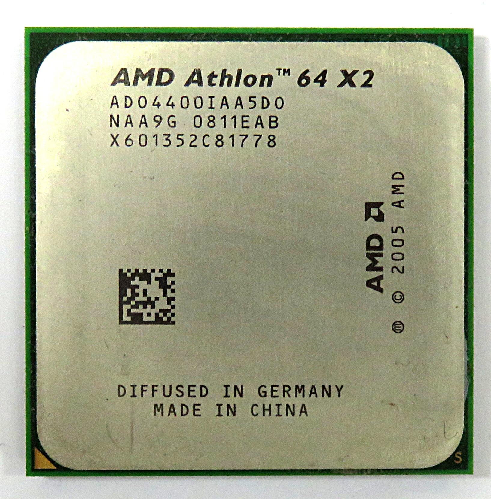 ADO4400IAA5DO AMD Athlon X2 Dual-Core Athlon 64 x2 4400+ 2.3 Ghz