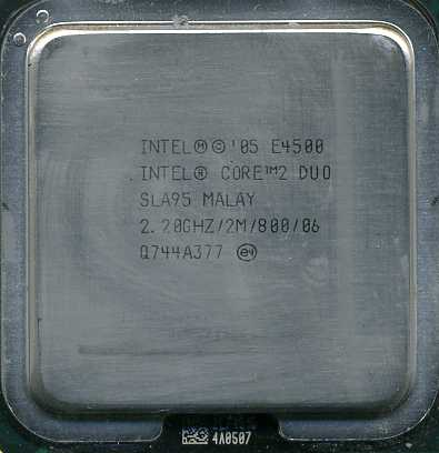 Intel Core 2 Duo SLA94 2.4GHZ 800FSB Processor E4600
