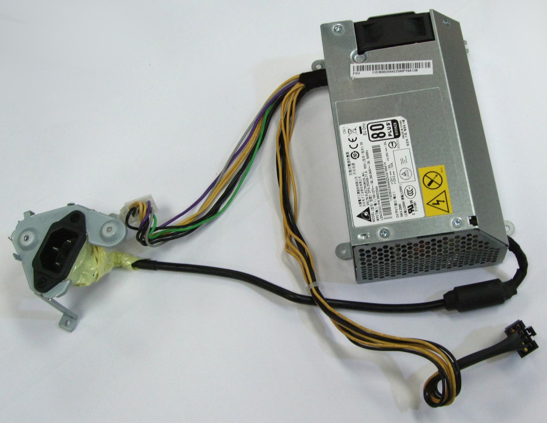 36002044 Lenovo 250W Power Supply - Delta Electronics DPS-250AB-71 A
