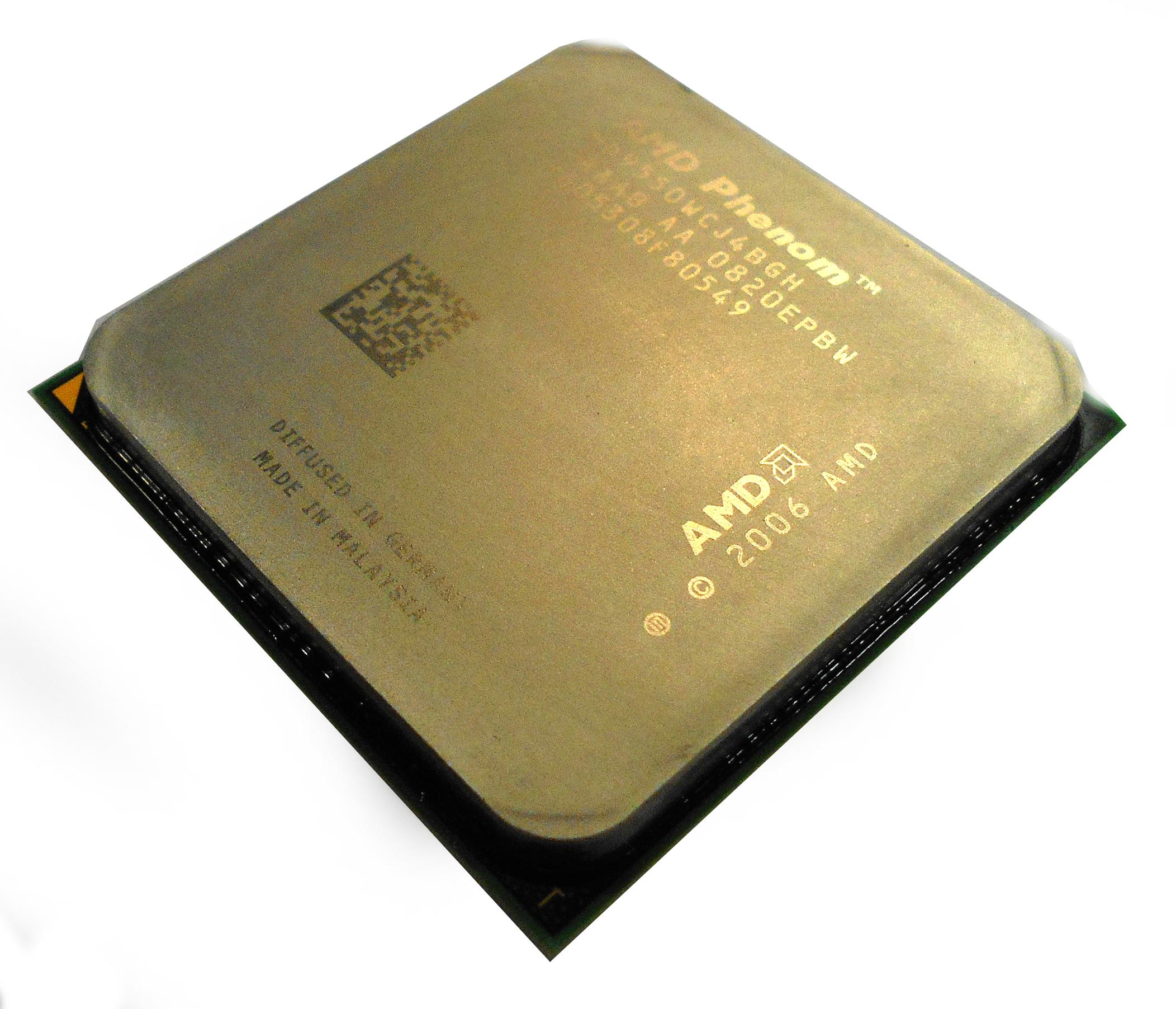 HD9550WCJ4BGH AMD Phenom X4 2.2GHz Quad Core AM2+ Processor