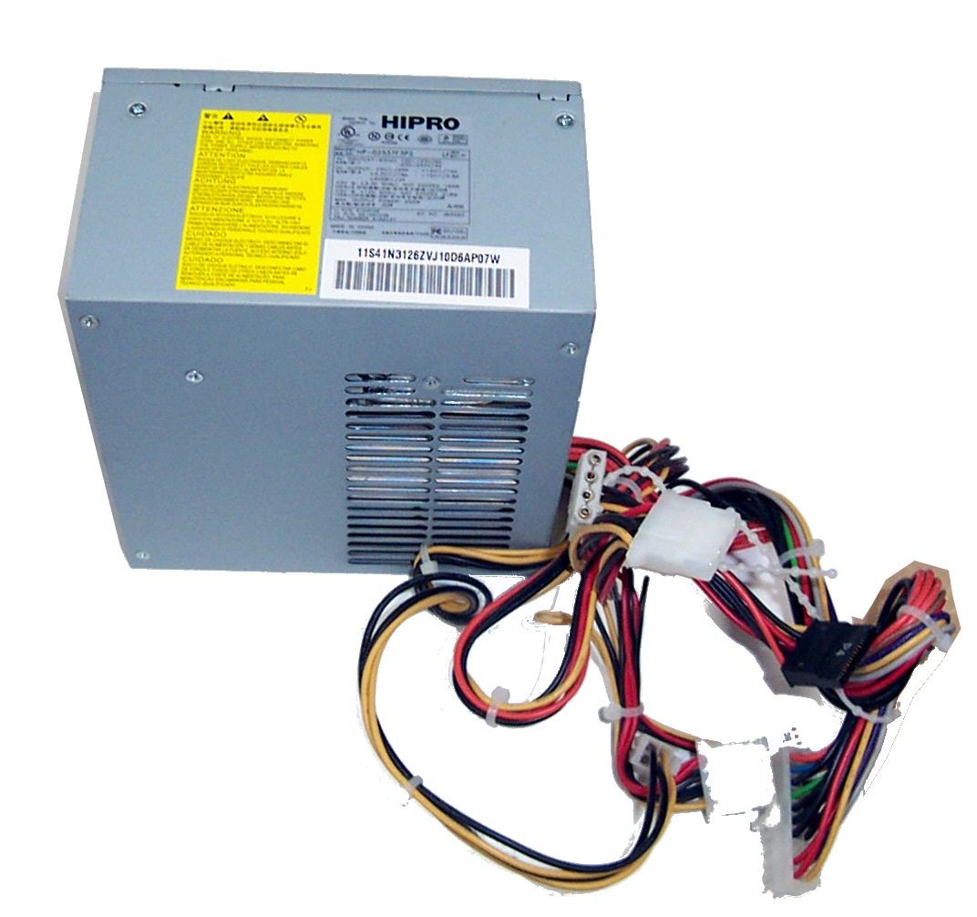IBM 41N3126 250W ATX Power Supply- HiPro Model: HP-D2537F3P2   Power ...