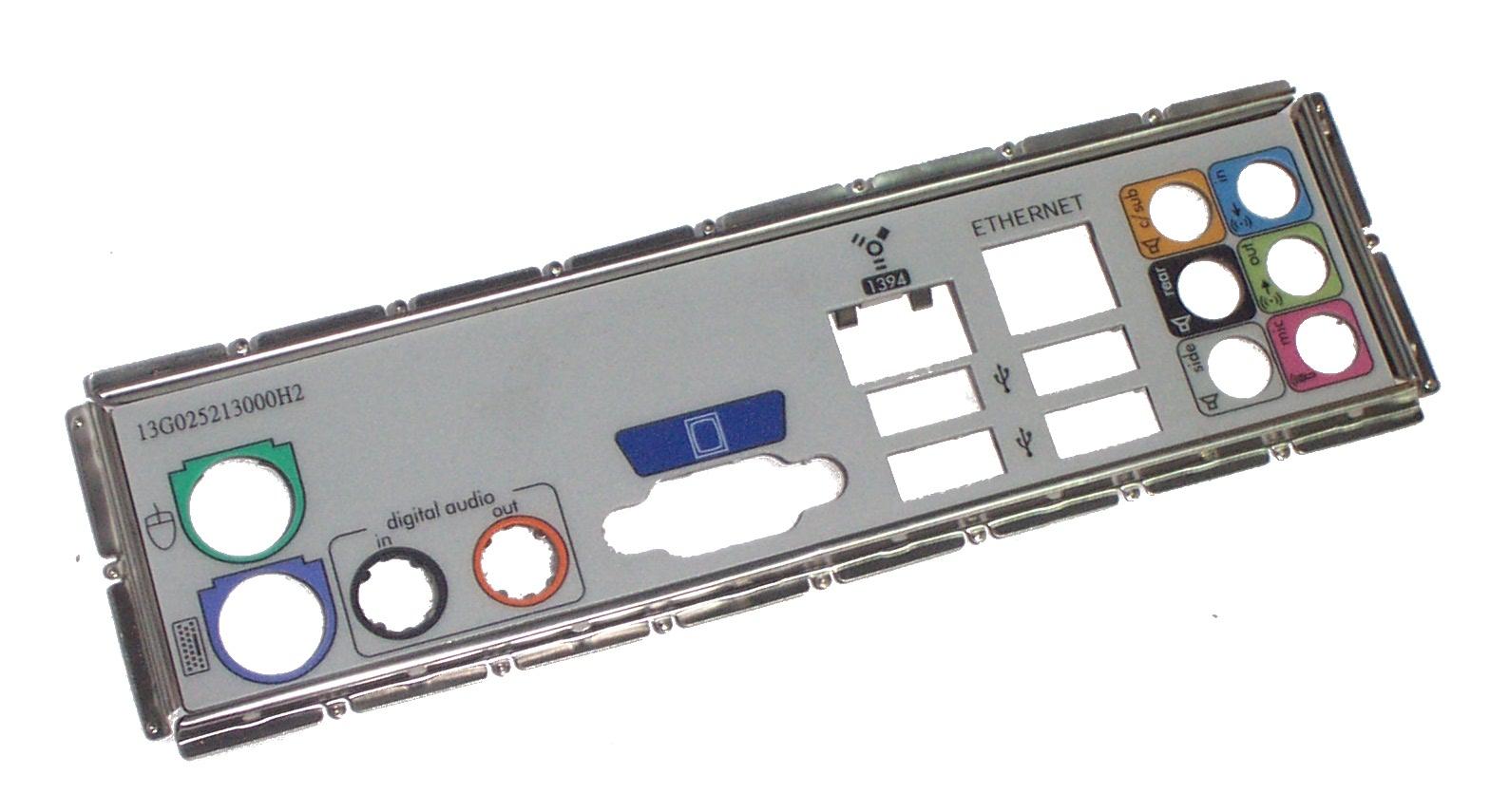 HP 5003-1021 Presario SR5079UK Motherboard IO Shield 13G025213000H2