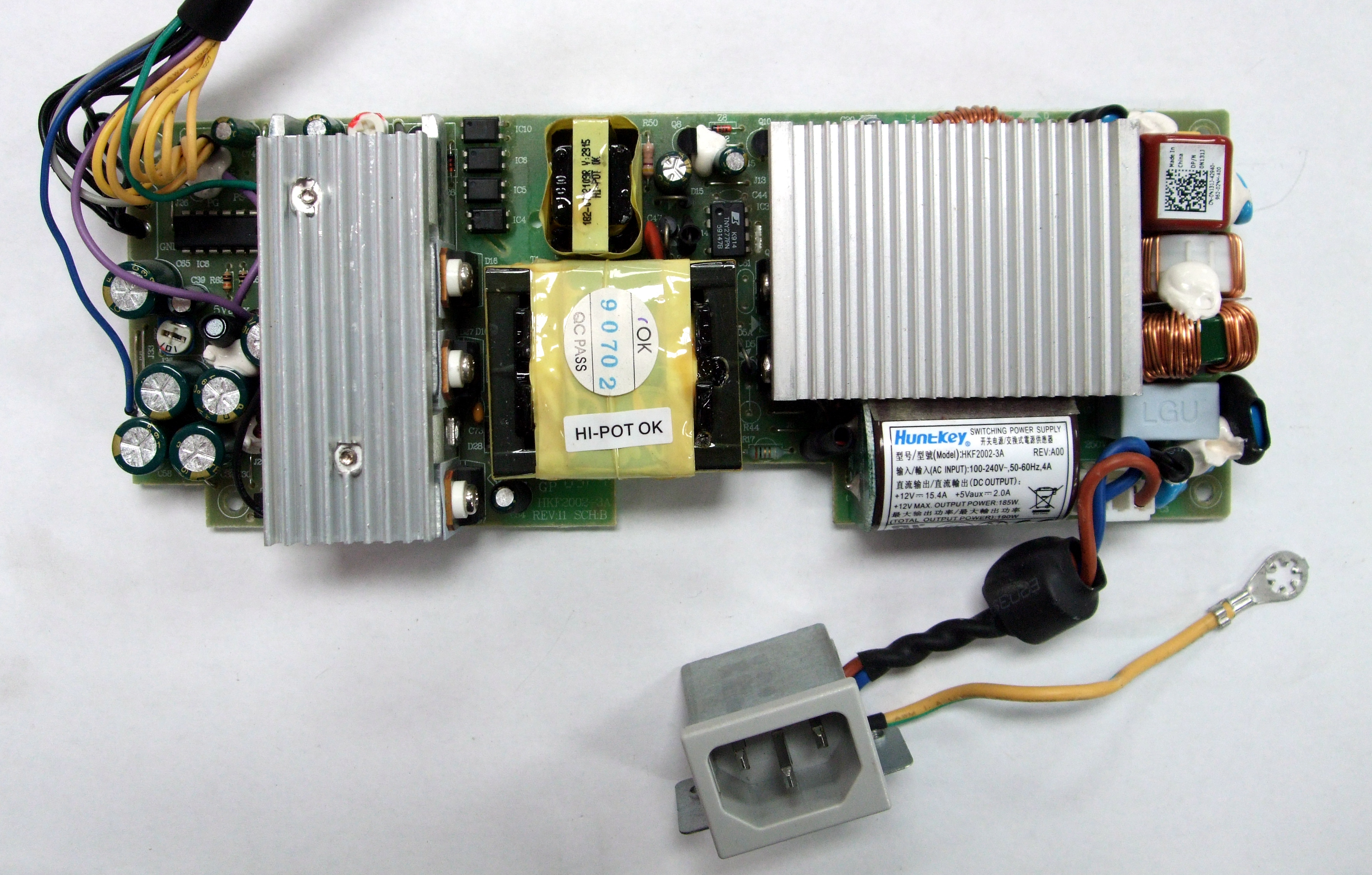 N131J Dell HKF2002-3A 190W Power Supply For Studio One 1909