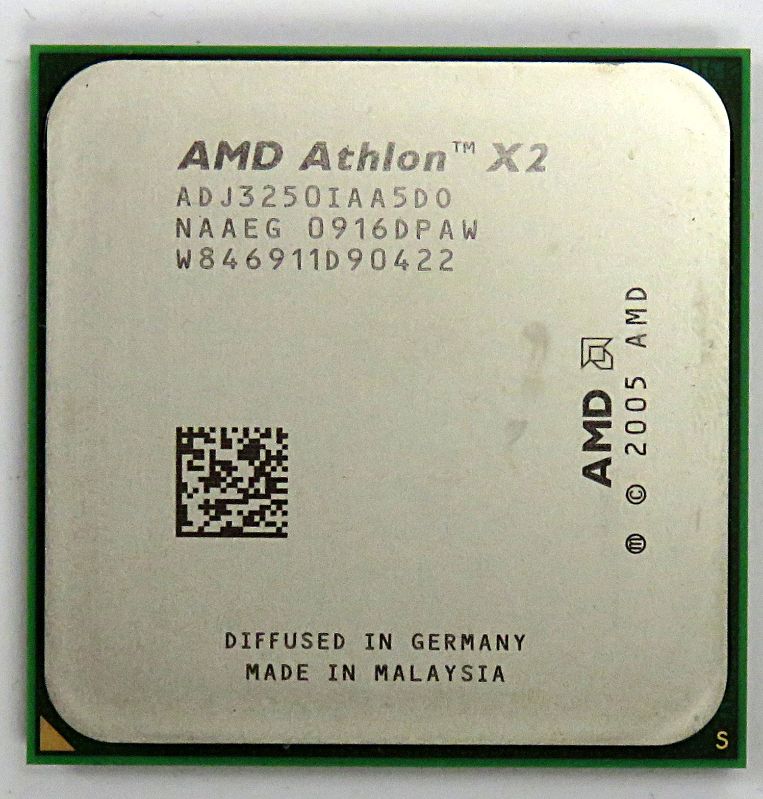 AMD ADJ3250IAA5DO Athlon 64 X2 3250e Socket AM2 Processor