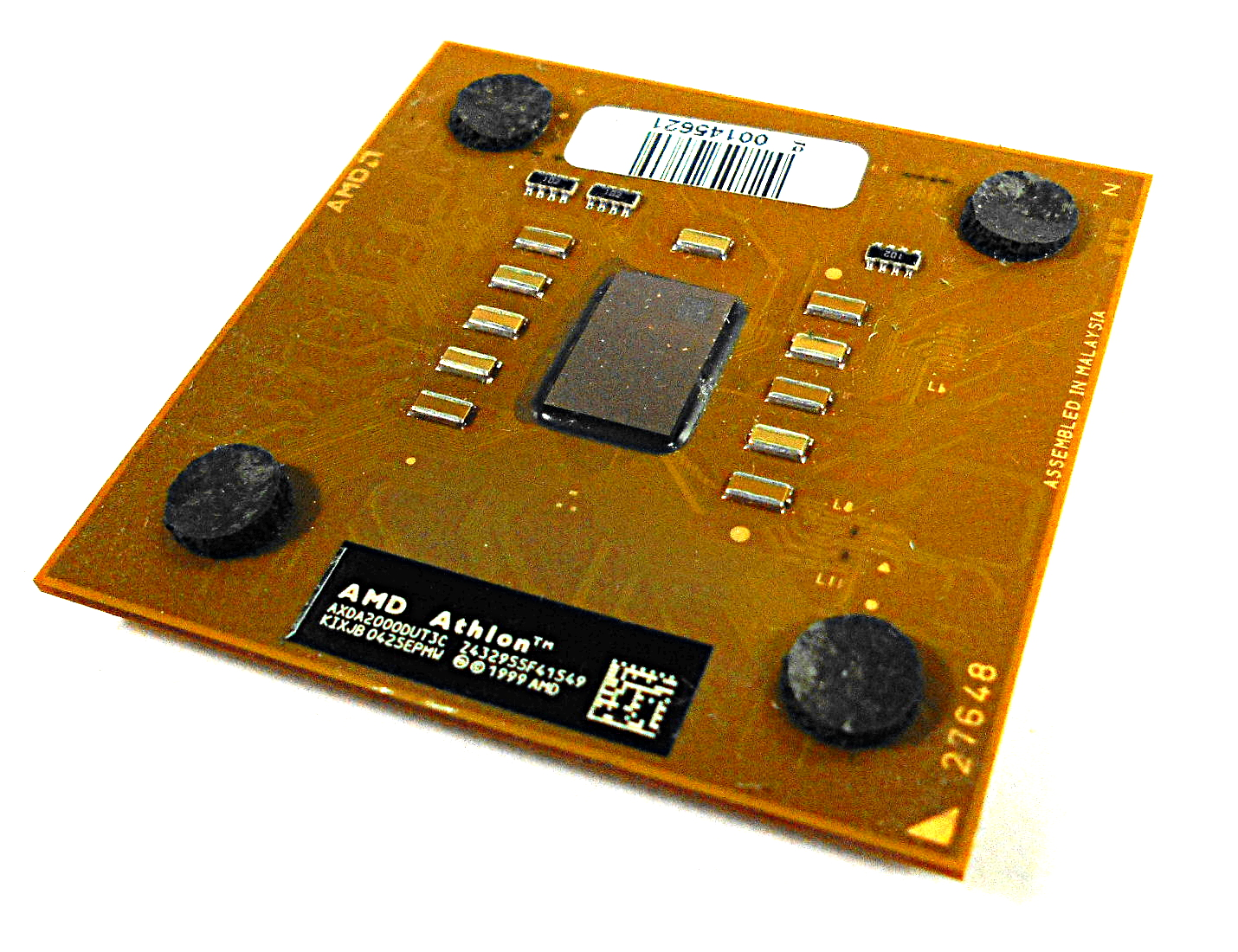 AMD AXDA2000DUT3 Athlon XP 2000+ Socket A/462 Brown Processor