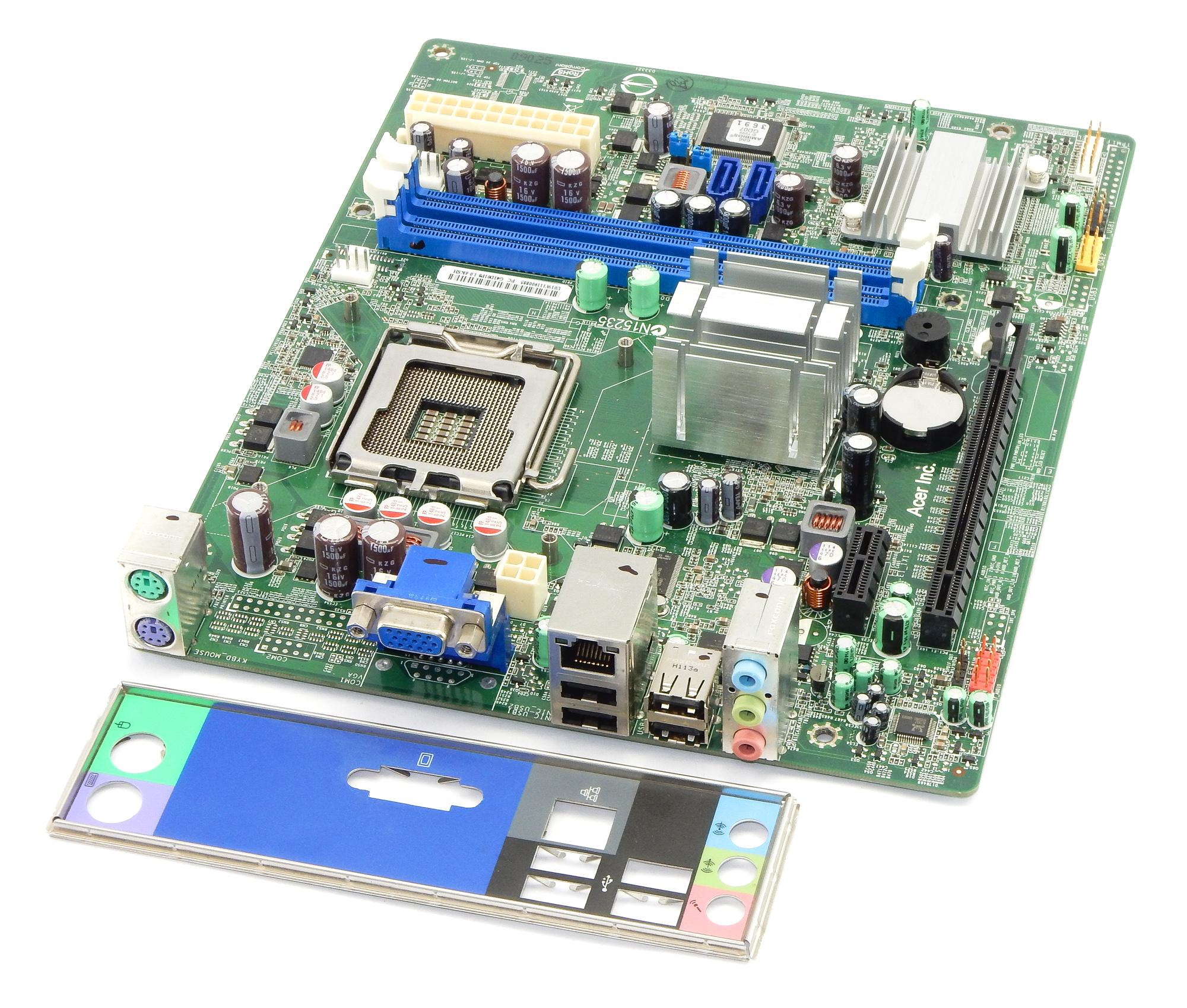 G41D01P8-1.0-6KSH Rev 1.0 Socket 775 System Motherboard MB.U5909.001