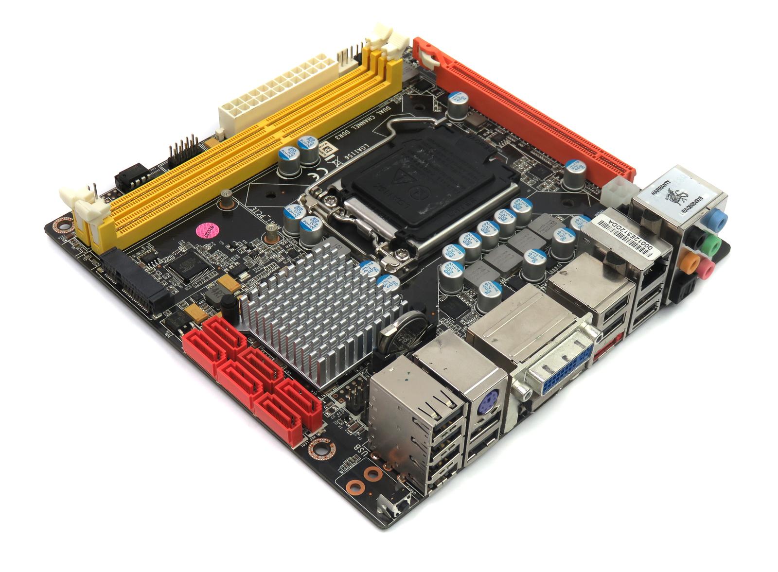 DIXONH55ITX Socket 1156 Motherboard (OEM Version of Zotac H55ITX-C-E) No USB3