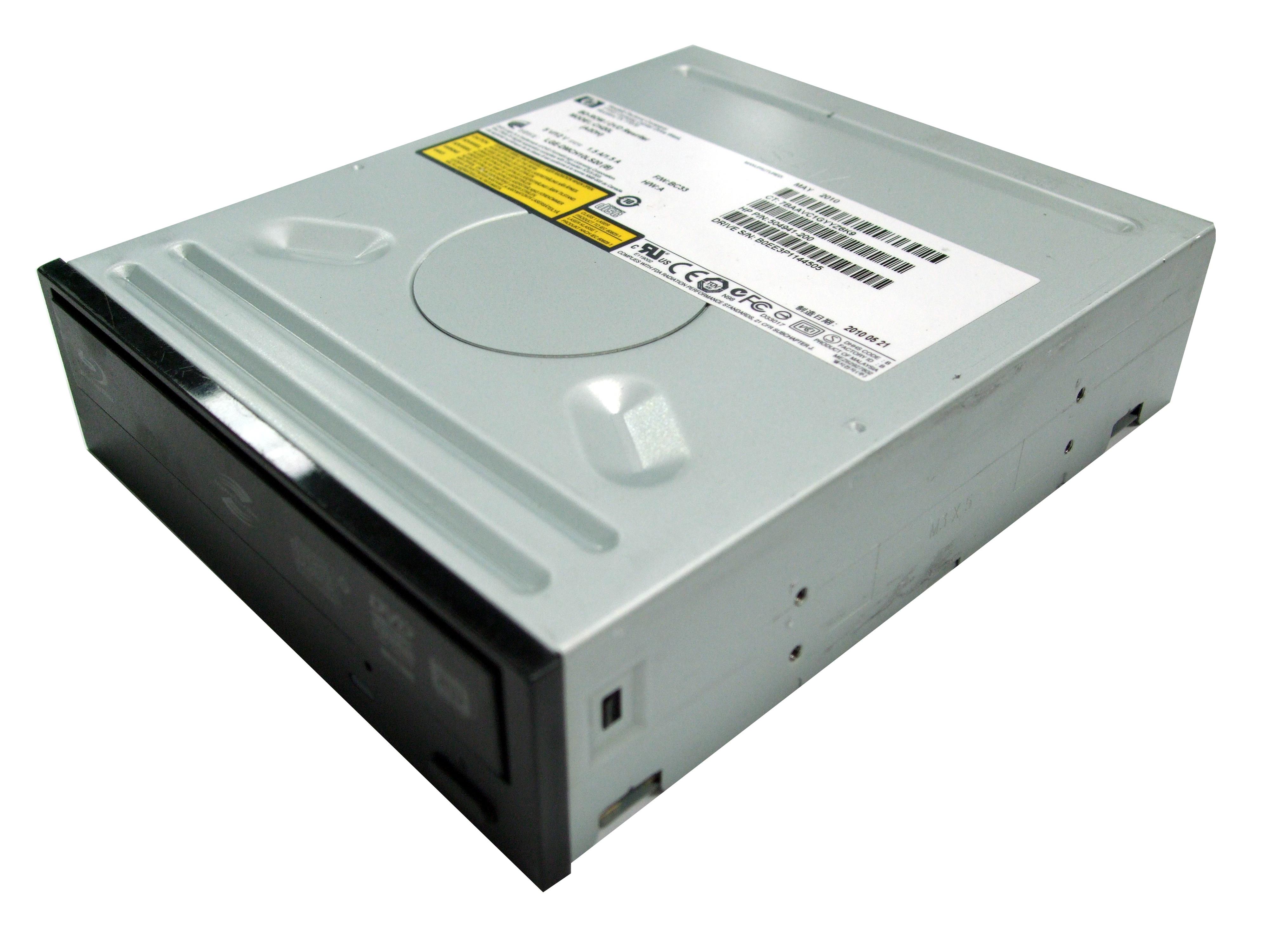 CH20L HP Compaq BD-ROM/DVD Rewriter SATA Drive - P/N 504941-200