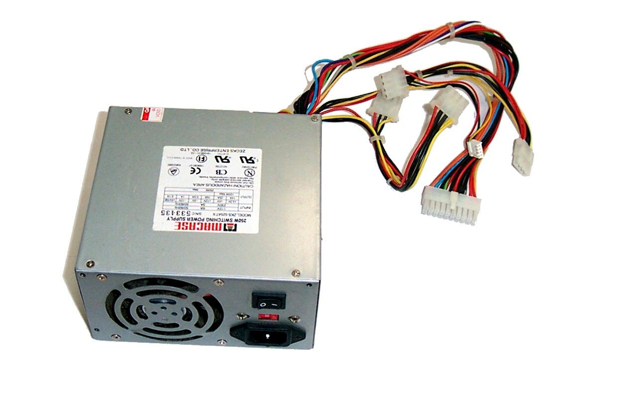 Macase ZKS-525ATX 250W ATX Power Supply   Power Supplies   Blackmore IT