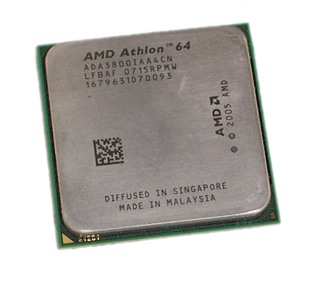 AMD ADA3800IAA4CN Athlon 3800+ 2.4GHz 2000MHz FSB 512MB L2 Cache Socket AM2 CPU