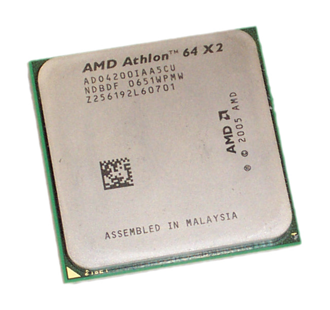 AMD AD04200IAA5CU Athlon 64 x2 Dual Core 4200+ 2.2GHz 1MB L2 Socket AM2 CPU