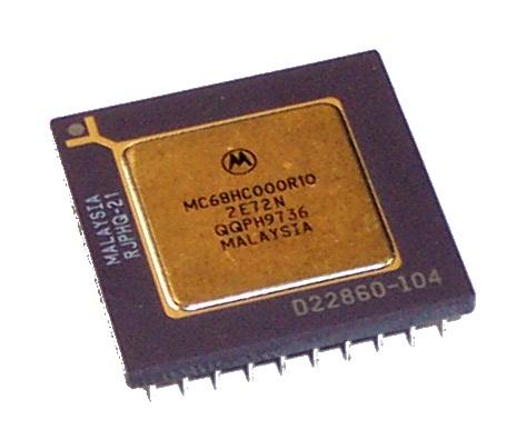 Motorola MC68HC000R10 10MHz 68000 68-Pin Ceramic PGA Processor