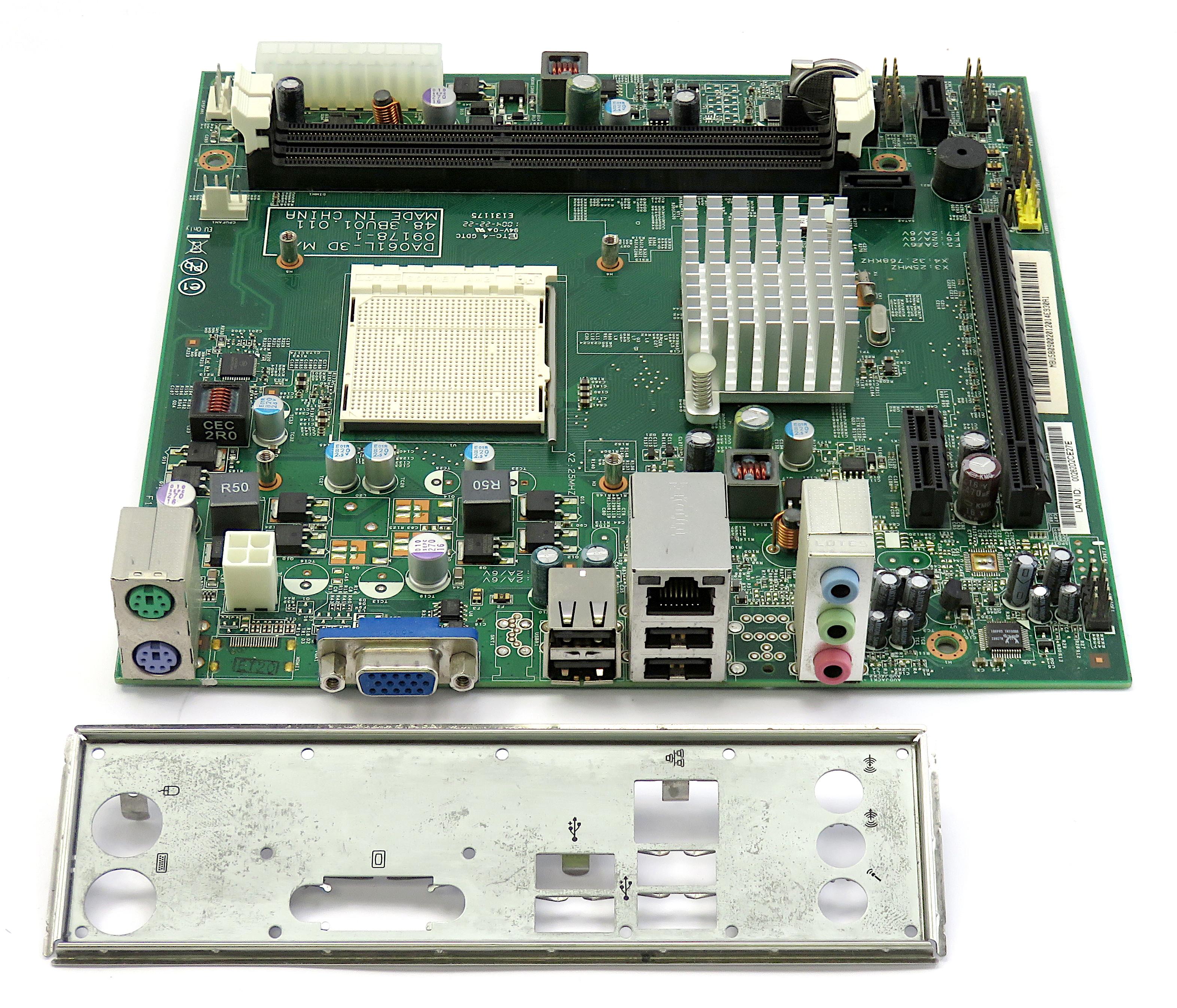 48.3BU01.011 AMD Socket AM2 Motherboard - DA061L-3D MB.U5809.002