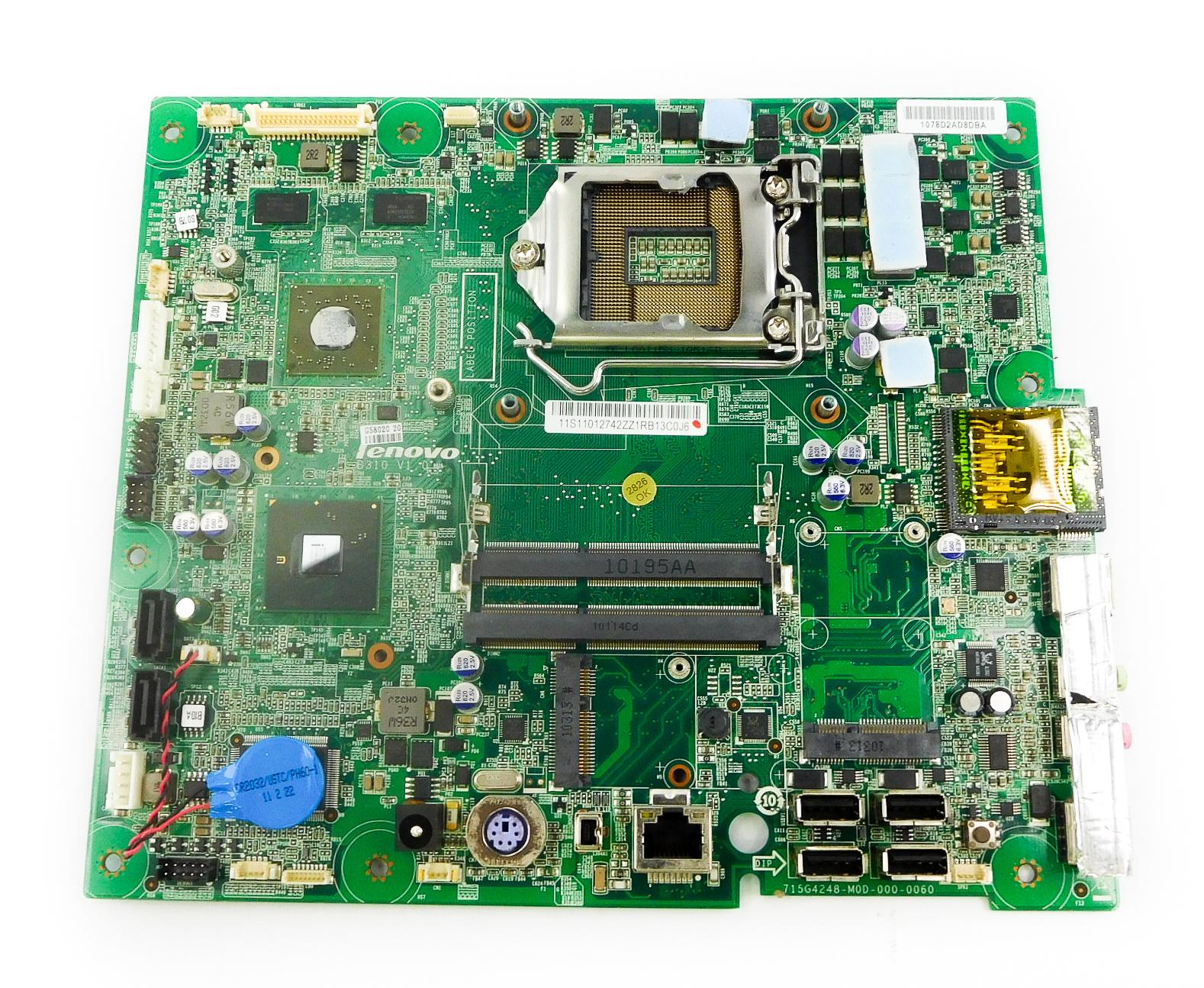 11012742 Lenovo IdeaCentre (B310 Family) V1.0 Motherboard -11S11012742