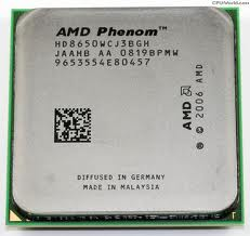 HD8650WCJ3BGH AMD Phenom X3 2.3GHz AM2 CPU Processor