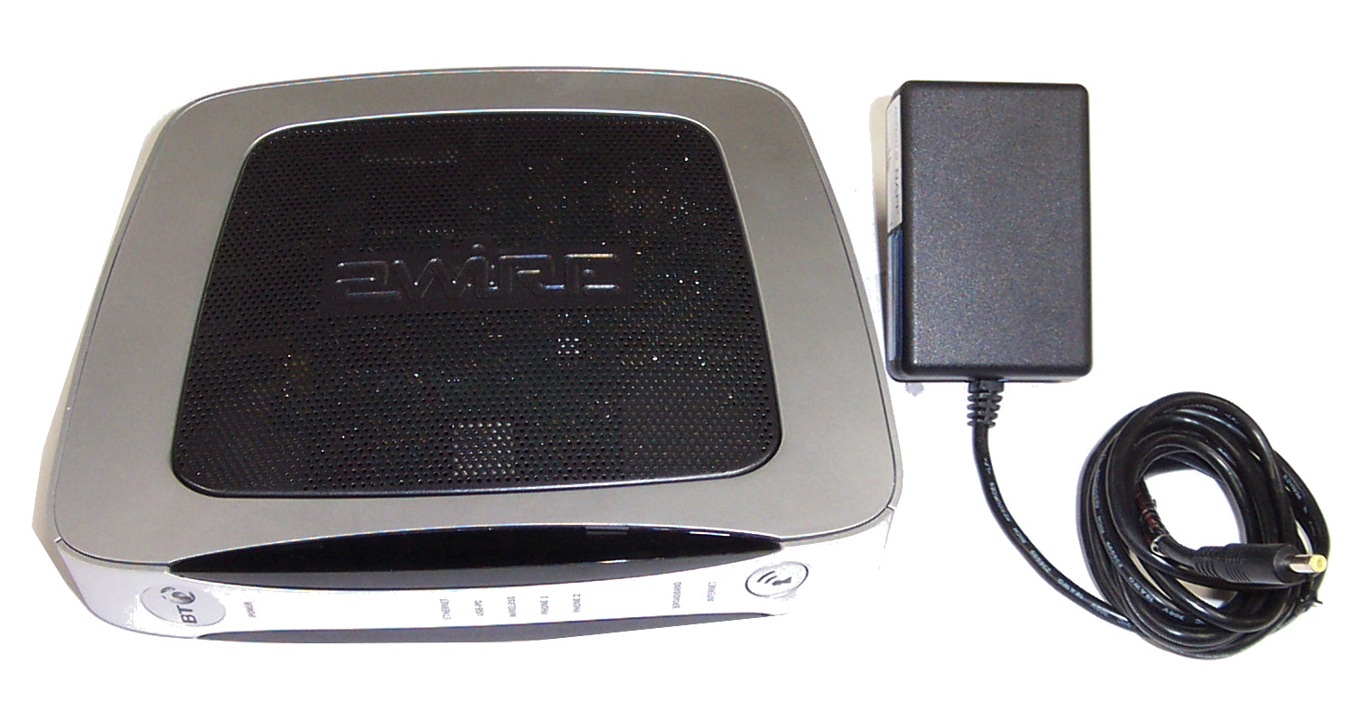 BT 2Wire 4201-003003-007 BT2700HGV Wireless ADSL Router bundle With ...