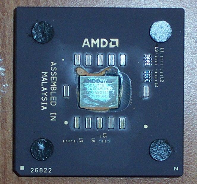 AMD Duron D750AUT1B 750MHz CPU