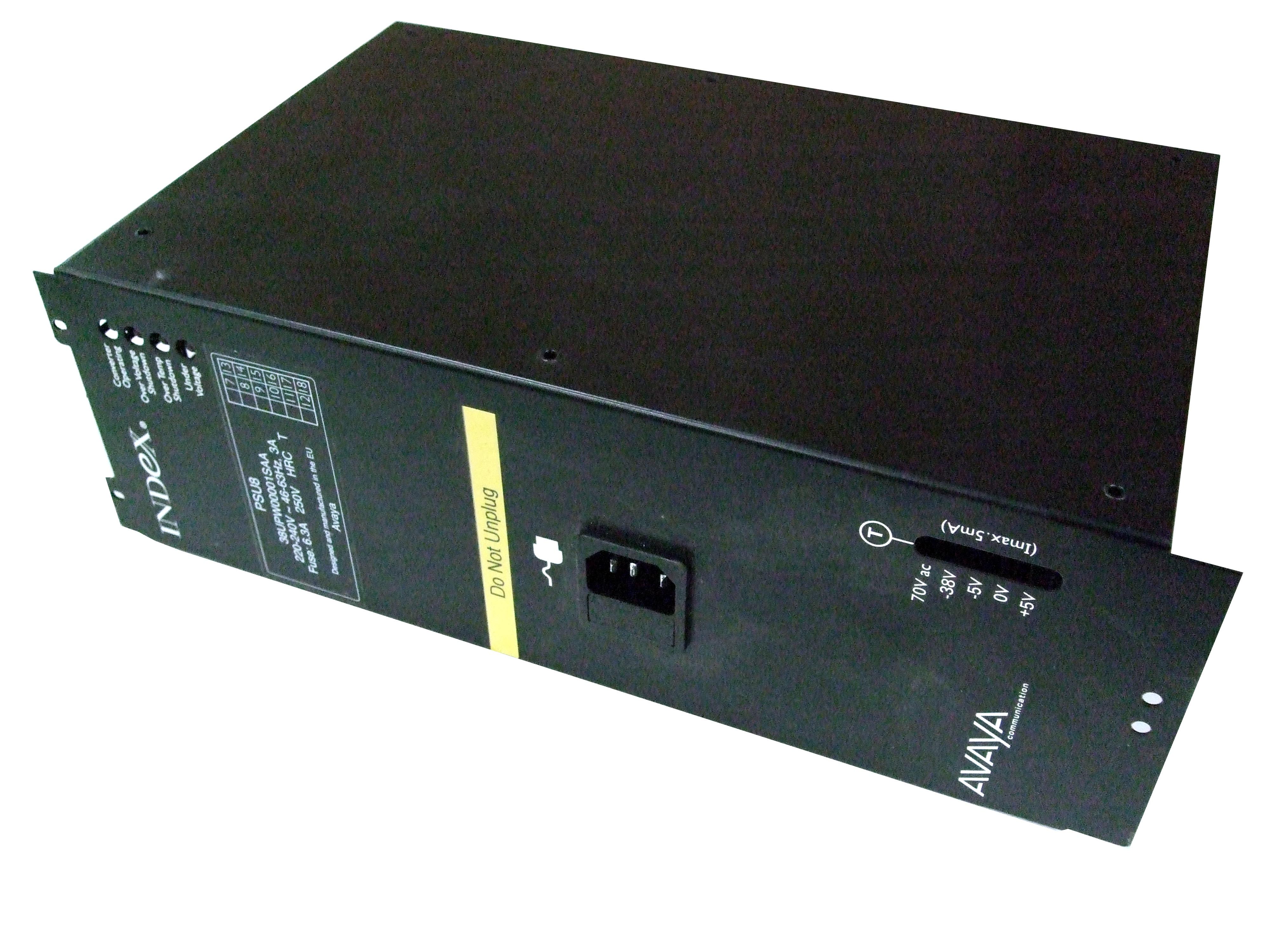 Avaya Lucent Index PSU8 Power Supply Unit - CABCU-UK/CABEX-UK