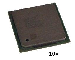 10 X Intel SL6S7 Pentium 4 2GHz 400MHz 512KB Socket 478 Processor