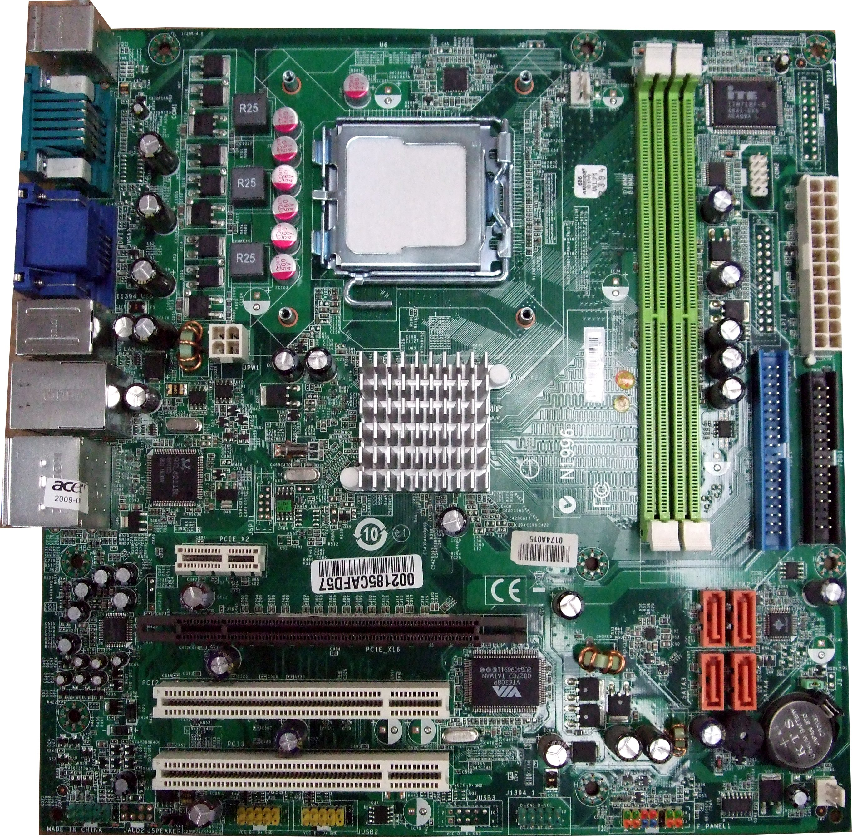 Acer Motherboard Manual download