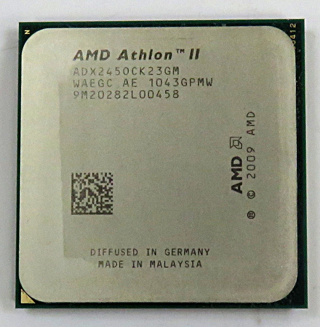 ADX245OCK23GM AMD Athlon II X2 245 2.93Ghz Dual Core AM3 Processor ADX2450CK23GM