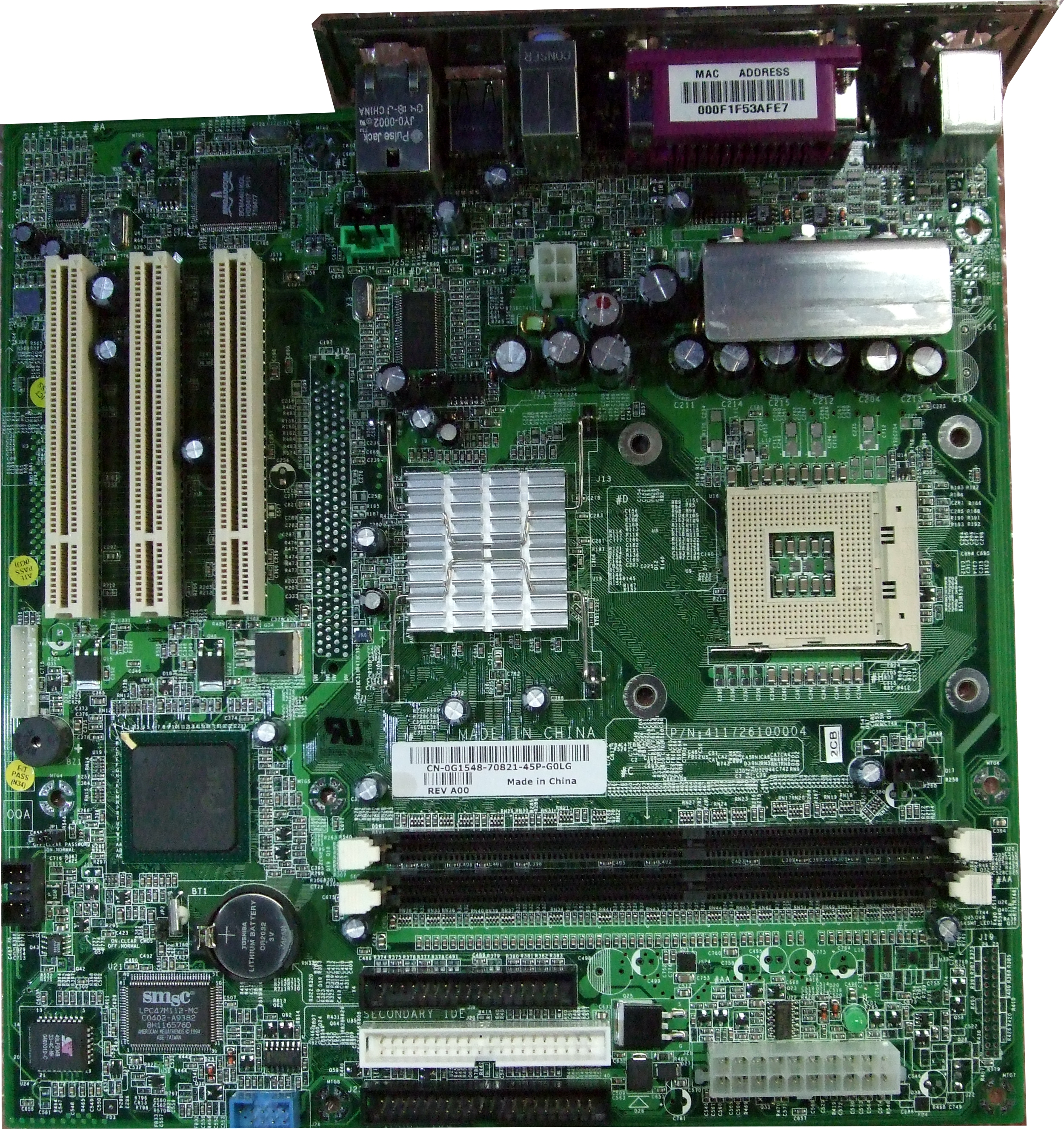 g1548 dell dimension 2400 socket 478 system motherboard ebay rh ebay com Dell Vostro 200 Dell Dimension 4600