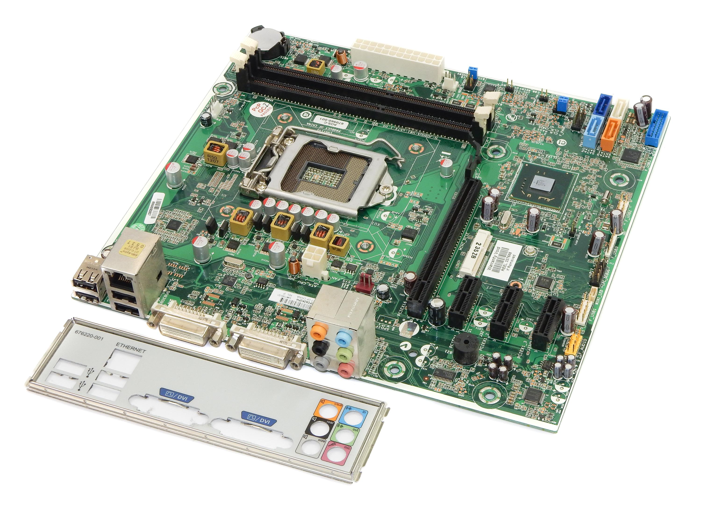 670960-001 HP Socket 1155 System Motherboard H-JOSHUA-H61-uATX:1.00