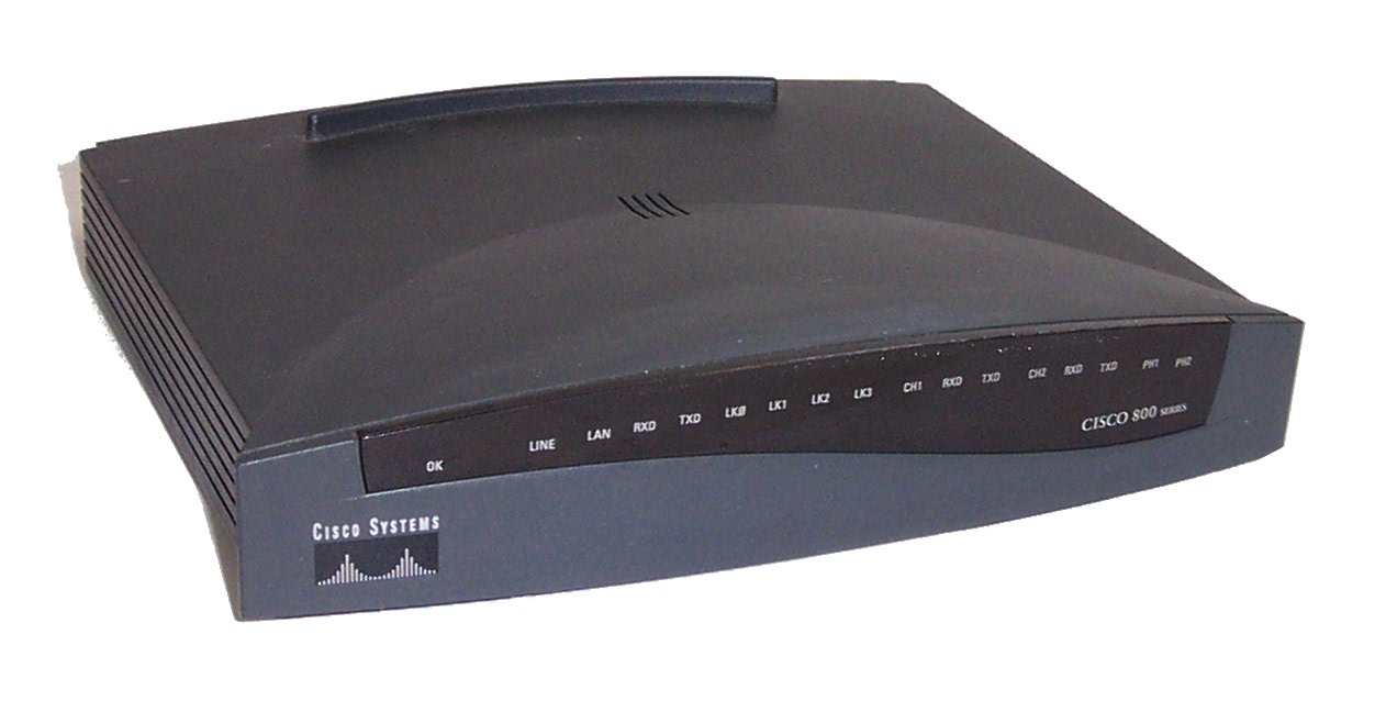 Cisco 803 800 Series IOS C800-Y6-MW Ver.12.2(5a) Router- No AC ...