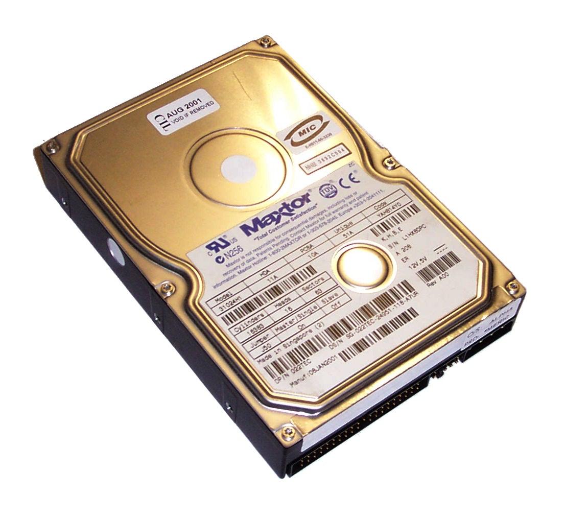 Dell 22TEC 102GB 5400RPM 35 IDE Hard Disk Drive Maxtor 31024H1
