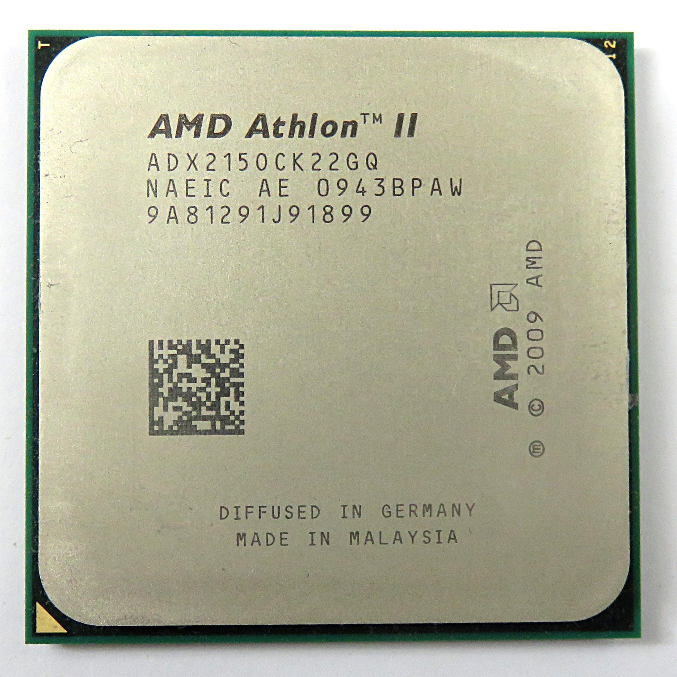 AMD ADX2150CK22GQ Athlon 2 X2 215 2.7GHz 1MB Socket AM2+ / AM3 Processor
