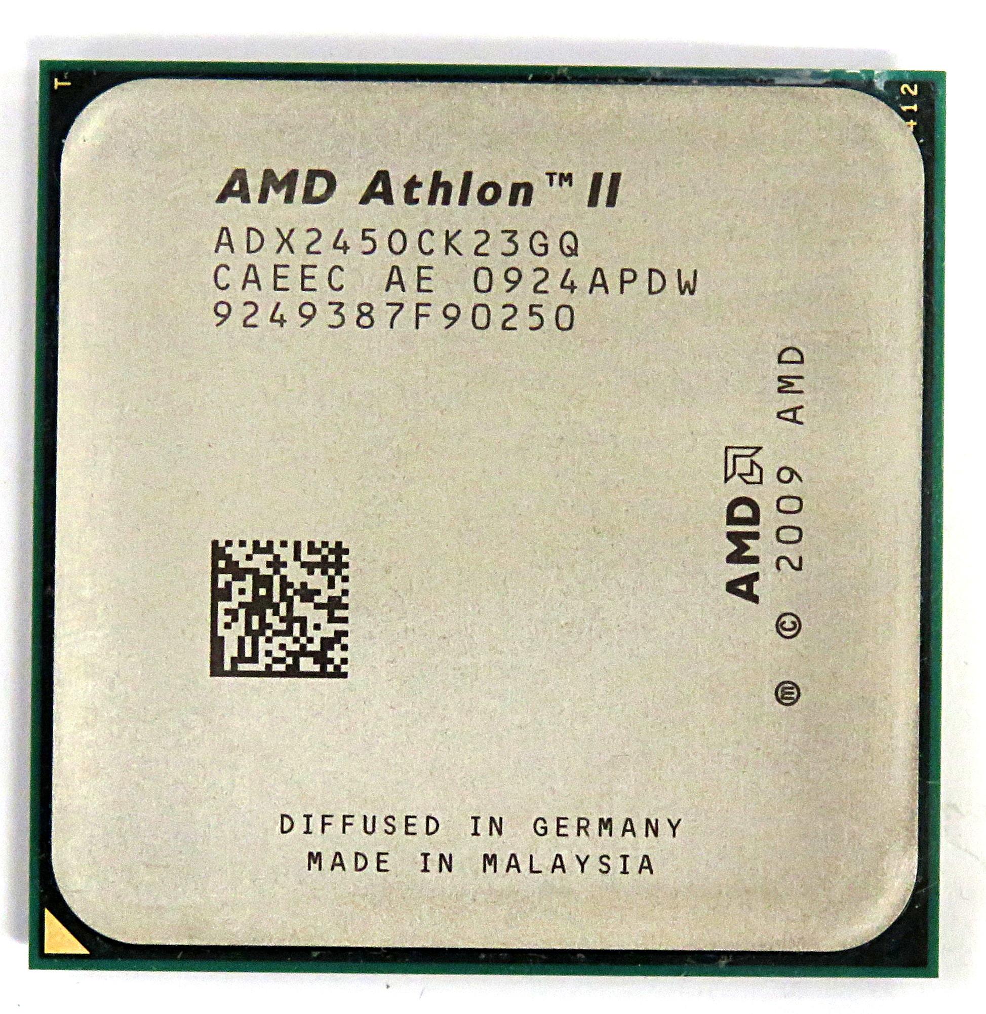 AMD Athlon II ADX245OCK23GQ 2.9GHz CPU Socket AM2+/AM3